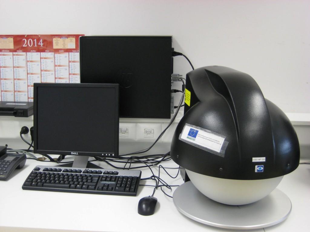 Banc d'imagerie multispectrale